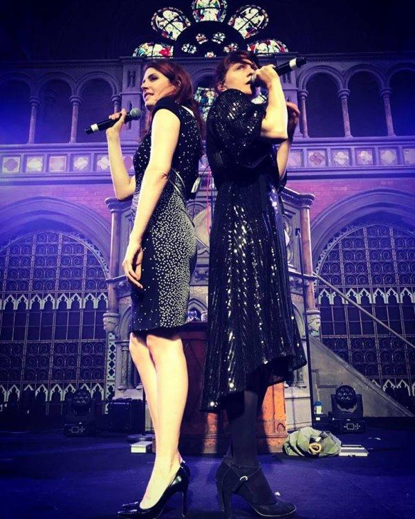 Concert de Elodie Frégé a L'union Chapel a Londres en Angleterre le 5 juin 2018