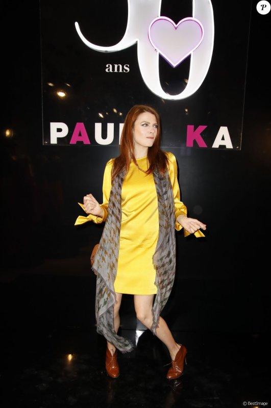Elodie Frégé au 30e anniversaire de la maison Paule Ka a Paris le 30 septembre 2018 ( 2 )