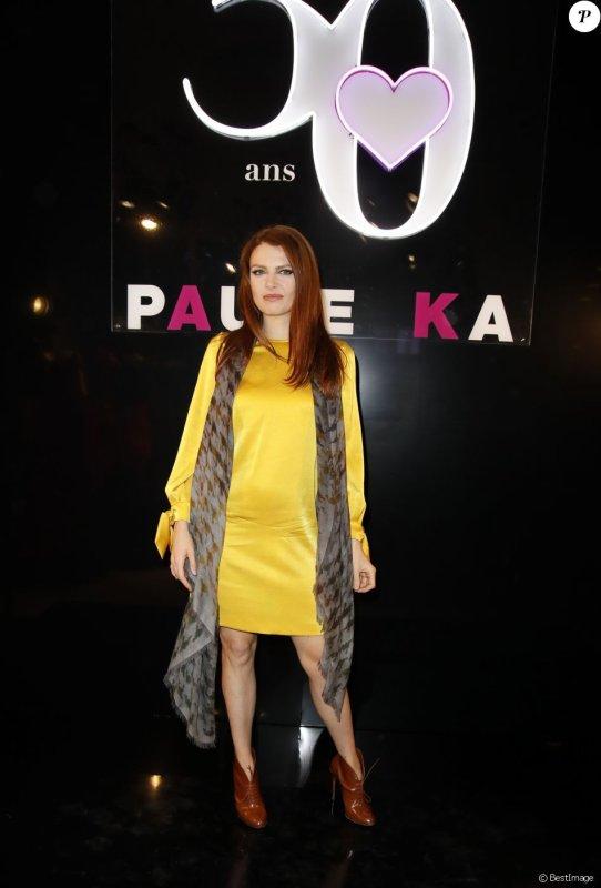 Elodie Frégé au 30e anniversaire de la maison Paule Ka a Paris le 30 septembre 2018 ( 3 )