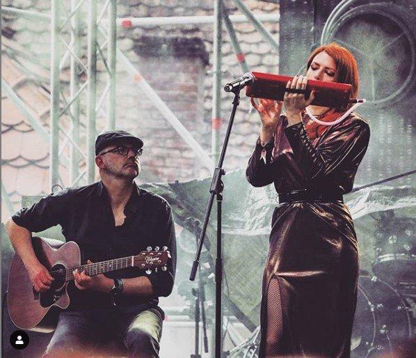 Concert Elodie frégé au street food carnival en Roumanie le 12 mai 2019
