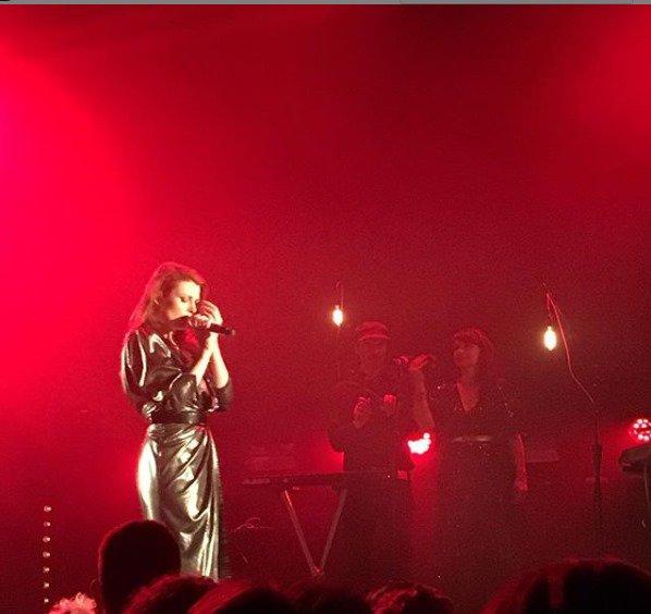 Concert Elodie Frégé au botanique a Bruxelles en Belgique le 16 mai 2019