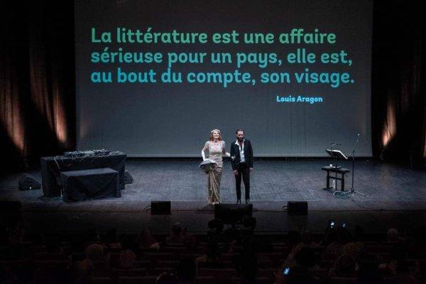ELODIE FREGE EN CINE CONCERT AVEC PRIEUR DE LA MARNE A STRASBOURG LE 3 SEPTEMBRE 2021 ( 1 )