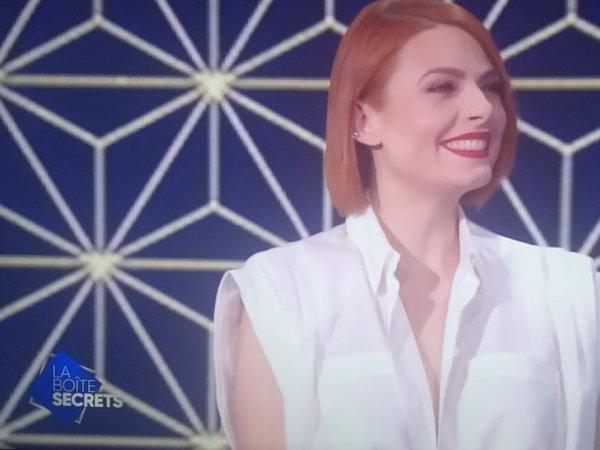 """ELODIE FRÉGÉ DANS L EMISSION DE FRANCE 3 """" LA BOITE A SECRETS """" LE JEUDI 9 SEPTEMBRE 2021 ( 3 )"""