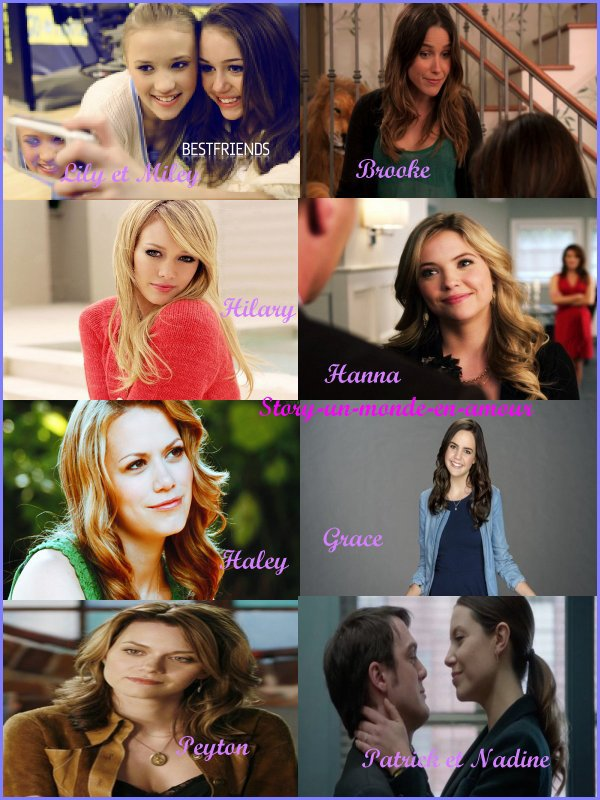 Chapitre 7:Une sortie de magasinage pour Brooke,Haley,Hanna,Miley,Lily,Grace,Peyton et Hilary