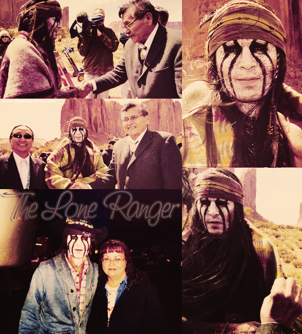 ' ' Photos sur le tournage de The Lone Ranger  By Rhum-Diary [c =#080604]'