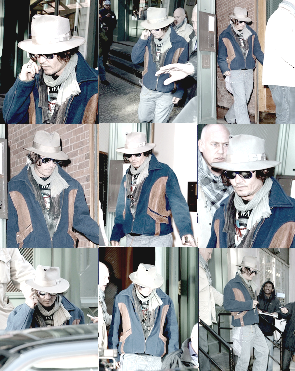 ' ' Johnny Depp sortit 29 02 12  By Rhum-Diary [c =#080604]'