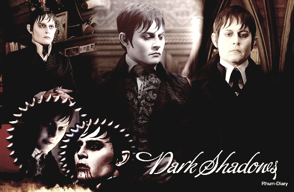 ' ' Dark Shadows 9 Mai au cinéma  By Rhum-Diary [c =#080604]'