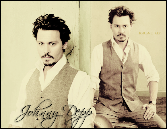 ' ' Johnny Depp photoshoot 2008   By Rhum-Diary [c =#080604]'