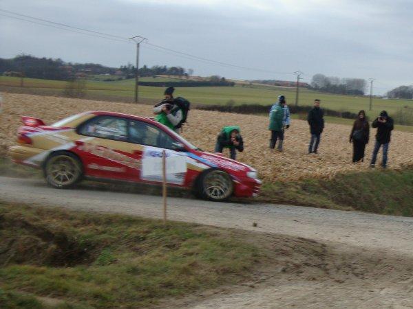 Rallye des Routes du Nord 2012: Première étape