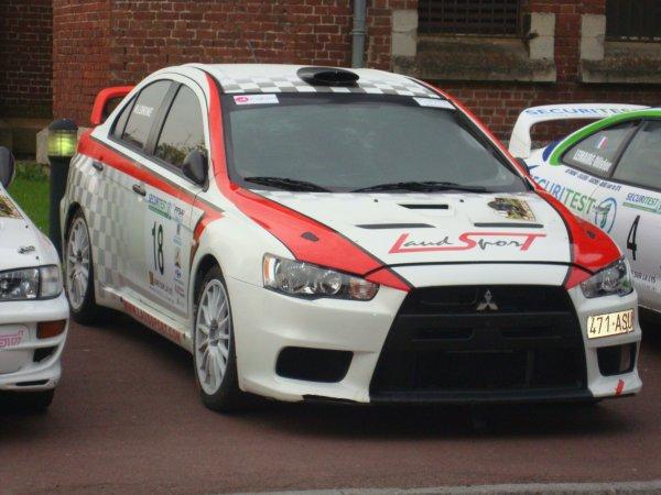 À propos de la Mitsubishi Lancer Evolution