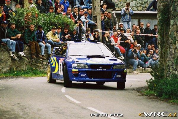 Vous aimez les Subaru Impreza WRC '97-98?