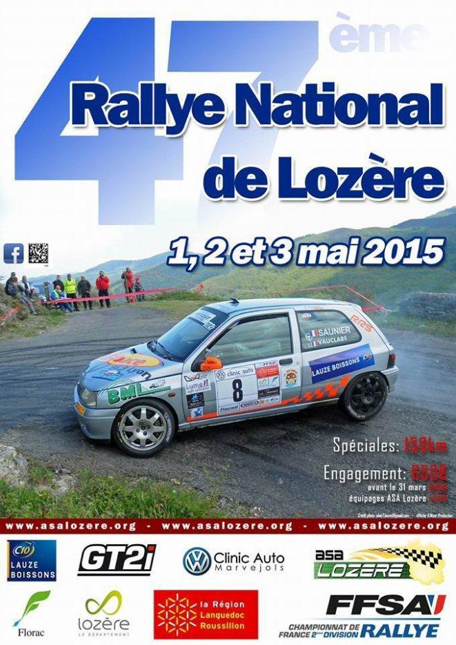[g]Rallye de Lozère 2015[/g]