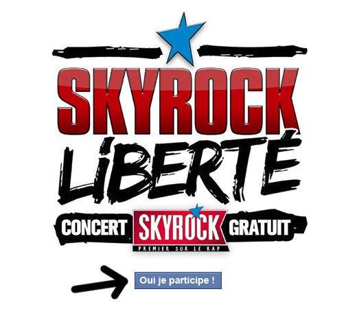 """""""la liberté de Skyrock"""" !"""