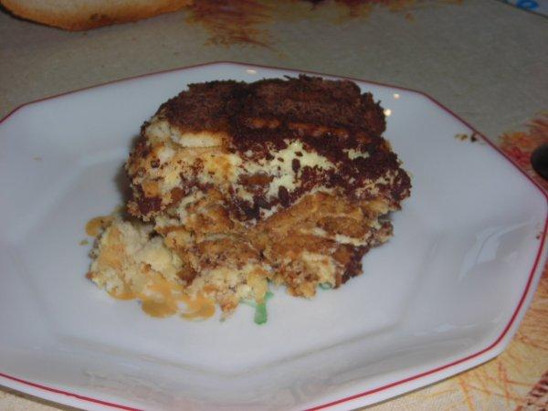 TIRAMISU AUX PETITS BEURRES (pour le concours de cuisine sur le blog de Mon-grimoire-a-recettes)
