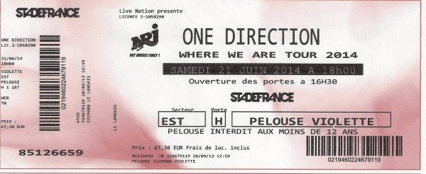 WAT 21/06/2013 One Direction