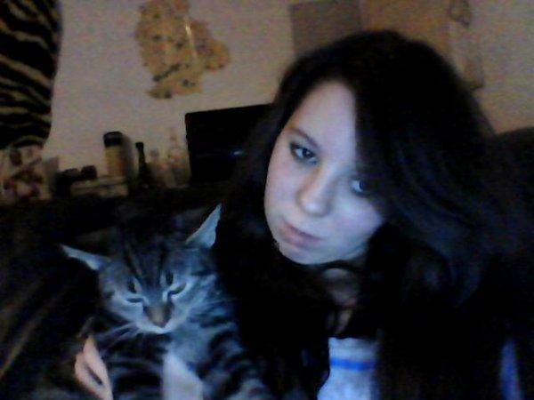mon chat tyson et moi et oui on change