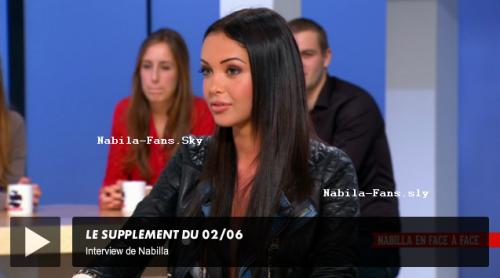 Nabila dans Canal + .
