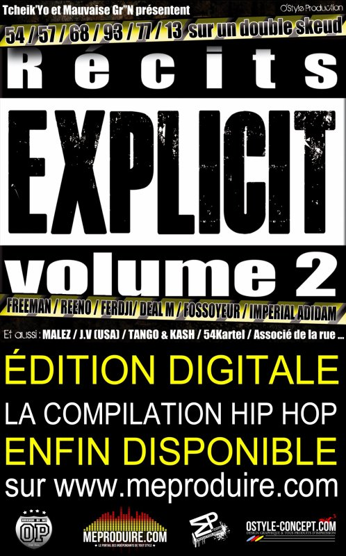 RECITS EXPLICIT VOL.2