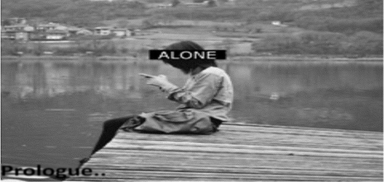 Be Alone , Be Strong ..