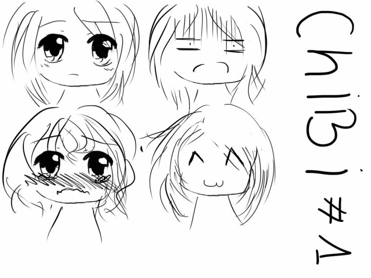 Tutoriel dessin n°7 : Les Chibis.