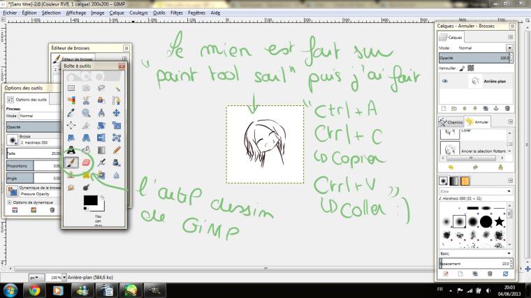 Tutoriel dessin n°8 : Faire un Gif sur Gimp.