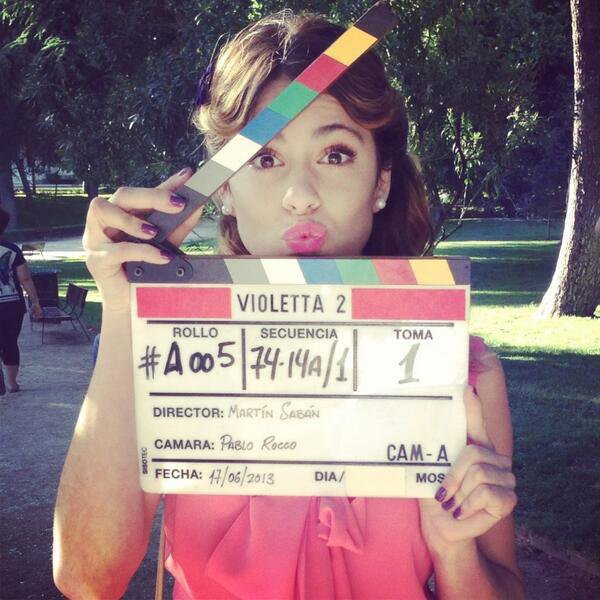 Tournage Violetta saison 2