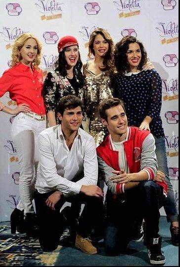 Mechi, Lodo, Tini, Alba, Diego et Jorge!!!!