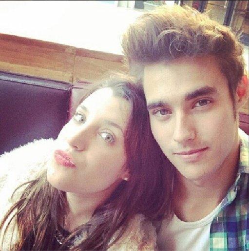 Jorge et sa copine !!!