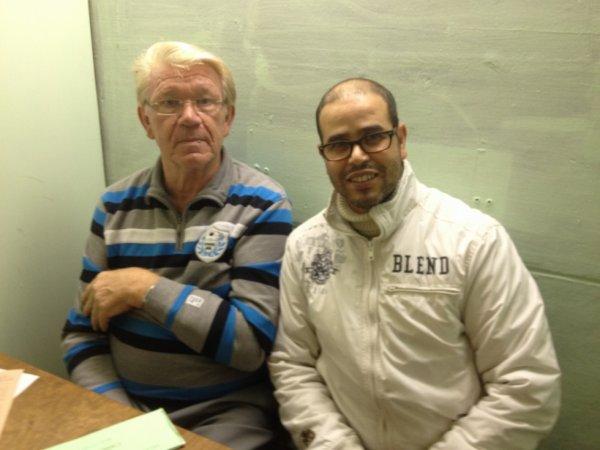 mon 1er stage d'élève juge malinois avec le grand juge OMJ Mr Calebout Werner