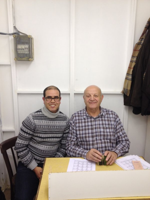 mon 2éme stage en Belqigue avec le juge OMJ Mr Van Verdegem Jozef