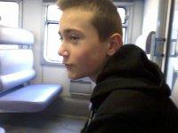 Moi dans le train pour Walibi =D