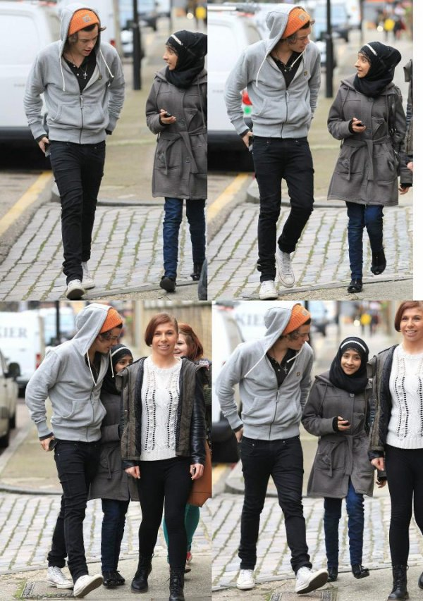 Harry aujourd'hui en dehors du studio à Londres - 08-01-13 #alex