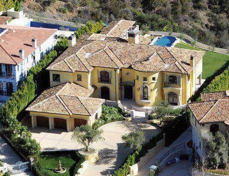 La maison que Niall a acheté à Los Angeles.  Tranquilou!