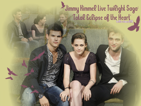 jimmy kimmel live twilight saga