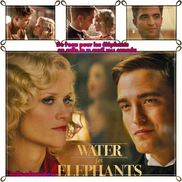 De l'eau pour les éléphants sorte en salle le 22 avril je vais allez le voir