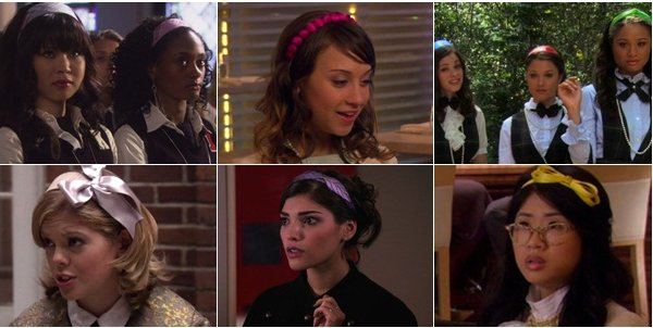 Gossip Girl , Headbands et co. ♥ ( les créas sont de moi merci de ne pas les prendres ou alors de mettre un lien ) .