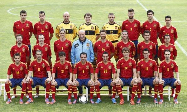 Espagne Euro 2012