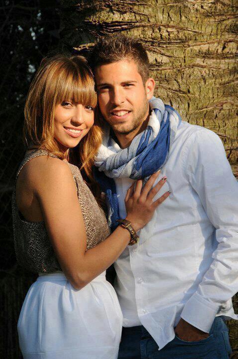 Jordi Alba et sa copine