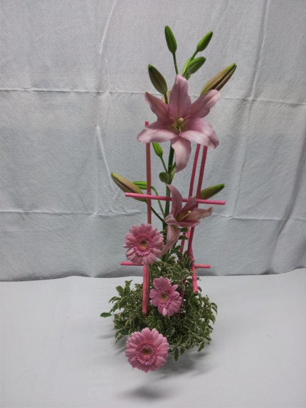 bouquet de karine après correct