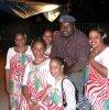 Nous à Baracani  avec le grand Bacoili de tamac music
