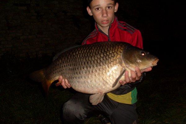 Très beau poisson pris de nuit 8kg