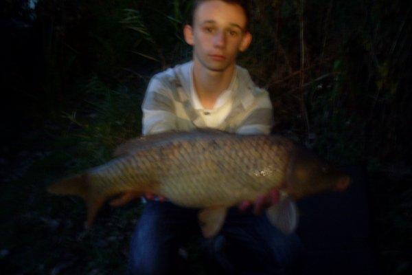 beau poisson pris en soiree. 4kg500.