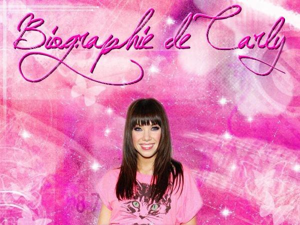Biographie de Carly