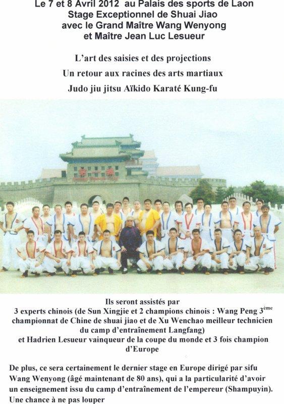 Le 7 et 8 Avril 2012 au Palais des sports de Laon