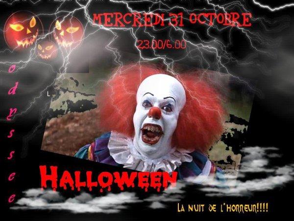 soirées Halloween