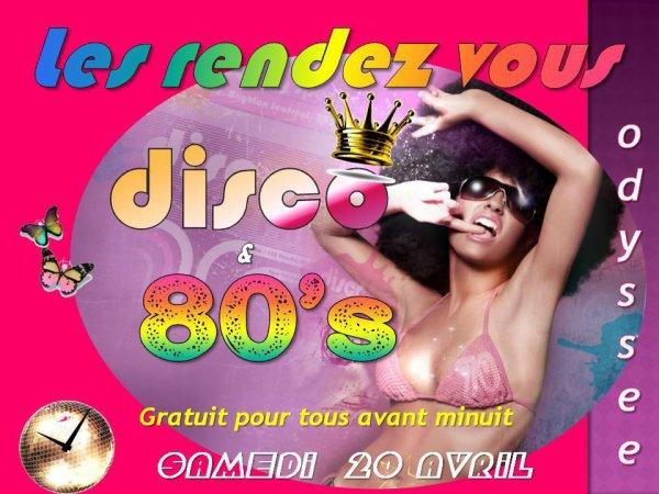 Soirée 80's