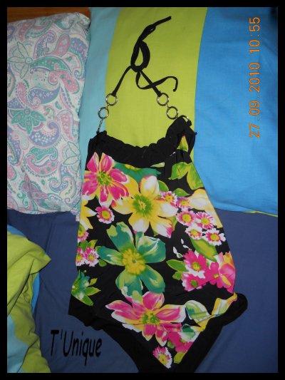 Blouse Fleuries Dos Nue 3*