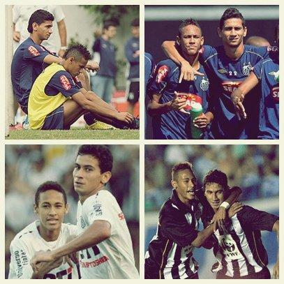 The coup de ♥ : Neymar et Ganso.