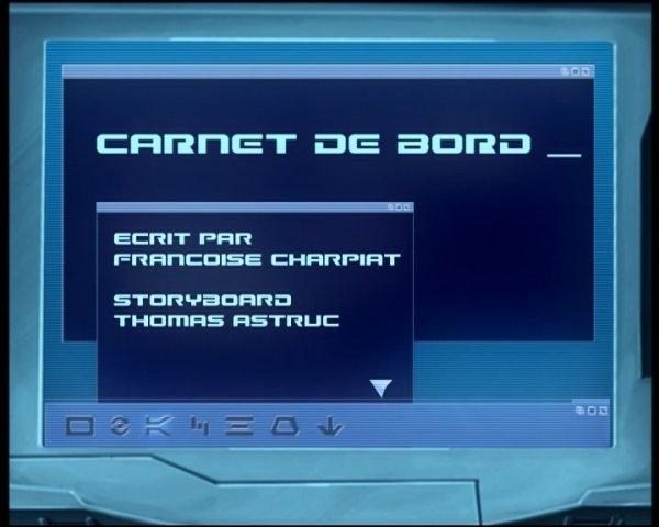 fiche résumé saison 1 épisode 4: Carnet de bord