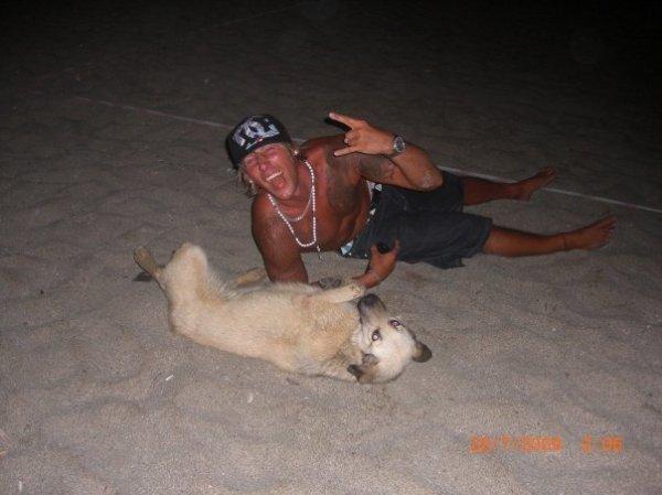 moi et mon chien sniper
